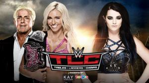 Charlotte, Ric Flair, Paige, WWE TLC 2015
