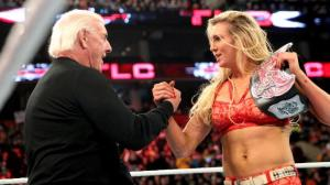 WWE TLC 2015, Ric Flair, Charlotte