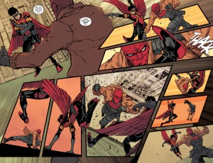 We Are Robin #7, Red Robin, Red Hood