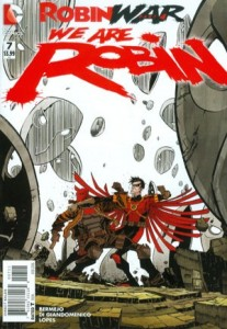 We Are Robin #7 cover