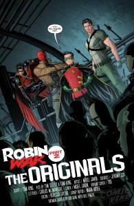 Grayson #15, Mikel Janin, Robin War