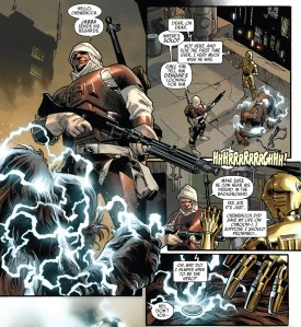 Star Wars #11, Chewbacca, Dengar, C-3PO