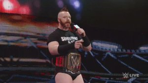 Sheamus, WWE Raw, December 14, 2015