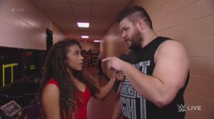 Jojo, Kevin Owens, WWE Raw, December 14, 2015