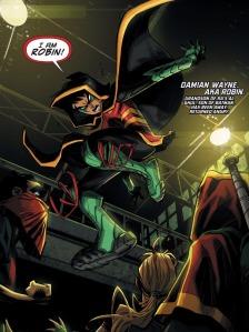 Robin War #1, Robin intro