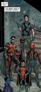 Robin War #1, Robins