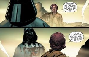 Darth Vader, Princess Leia, Darth Vader #14, Salvador Larroa
