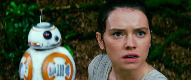 Star Wars: The Force Awakens, Rey, BB-8