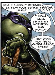 Batman/Teenage Mutant Ninja Turtles #21, Donatello