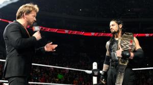 WWE Raw, January 18, 2016, Chris Jericho, Roman Reigns