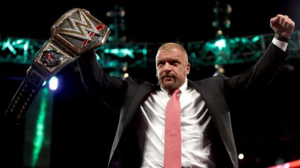 January 25, 2016, WWE Raw,, Triple H