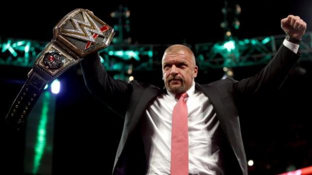 January 25, 2016, WWE Raw,, Triple H