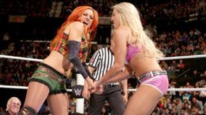 WWE Raw, January 4, 2016, Becky Lynch, Charlotte