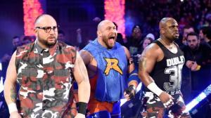 The Dudley Boyz, Ryback, WWE Monday Night Raw, January 18, 2016