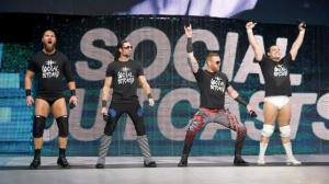 The Social Outcasts, WWE Raw, January 12, 2016