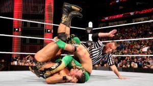 Kalisto, Alberto Del Rio, Raw, January 12, 2016