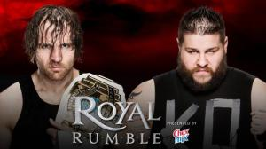 WWE Royal Rumble 2016, Dean Ambrose, Kevin Owens