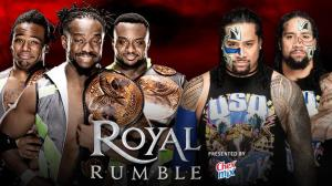 WWE Royal Rumble 2016, The New Day, The Usos