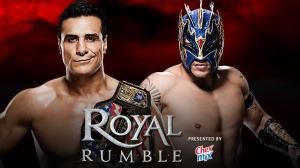 WWE Royal Rumble 2016, Alberto Del Rio, Kalisto