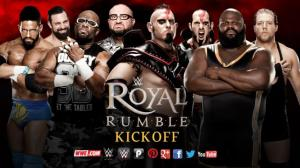 WWE Royal Rumble 2016, Kickoff Match