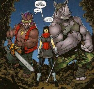 Bebo & Rocksteady, TMNT: City Fall, Part 2