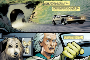 Back to the Future #4, Doc Brown