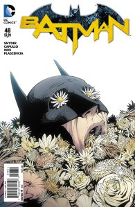 Batman #48, cover, Greg Capullo