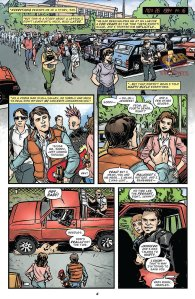 Back to the Future #4, Ryan Browne