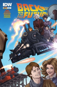 Back to the Future #4, Dan Schoening