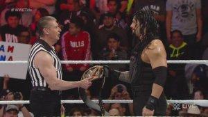 Vince McMahon, Roman Reigns, WWE Raw, January 4, 2016