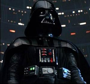 Darth Vader, don't make me destroy you