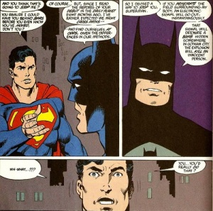 The Man of Steel #3, Batman and Superman