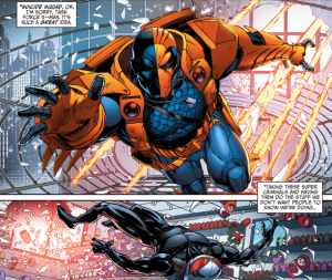 New Suicide Squad #1, Deathstroke, Black Manta