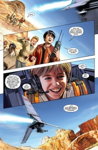 Star Wars #16 (2016), Mike Mayhew, Young Luke Skywalker