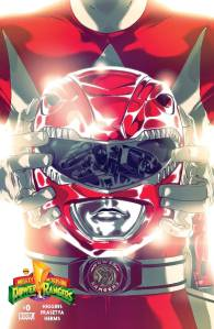 Mighty Morphin Power Rangers #0, Red Ranger cover
