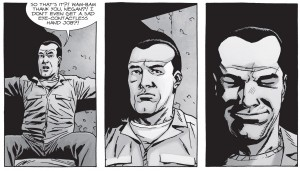 The Walking Dead #149, Charlie Adlard, Negan