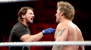AJ Styles, Chris Jericho, WWE Raw, December 8, 2016