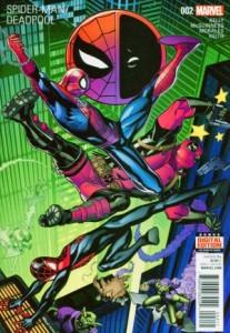 Spider-Man/Deadpool #2, cover