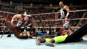 The Dudley Boyz, WWE Raw, February 8, 2016