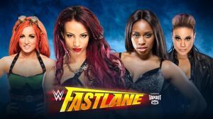 WWE Fastlane 2016, Sasha Banks, Becky Lynch, Naomi, Tamina