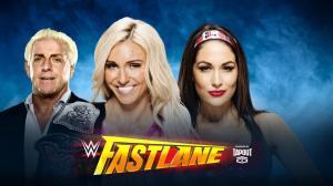 Charlotte, Ric Flair, Brie Bella, WWE Fastlane 2016