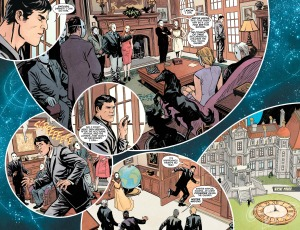 Batman #49, 2016, two-page spread