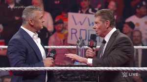 WWE Raw, February 23, 2016, Shane McMahon, Vince McMahon