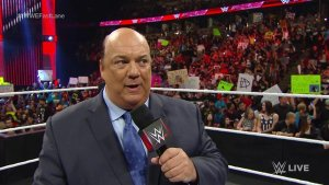 Paul Heyman, WWE Raw, February 15, 2016