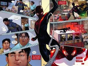 Spider-Man #1, 2016, Sara Pichelli, spash page