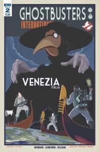 Ghostbusters International #2, cover, Dan Schoening
