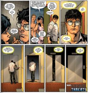 Superman #1, 2011, Clark and Lois, Jesus Merino