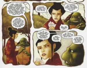 Leonardo, mother, Ninja Turtles, IDW