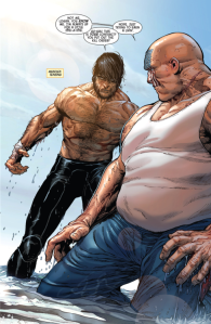 Death of Wolverine #1, Steve McNiven, Logan, Nuke