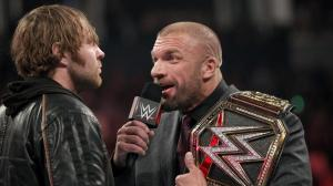 WWE Raw, February 29, 2016, Triple H, Dean Ambrose